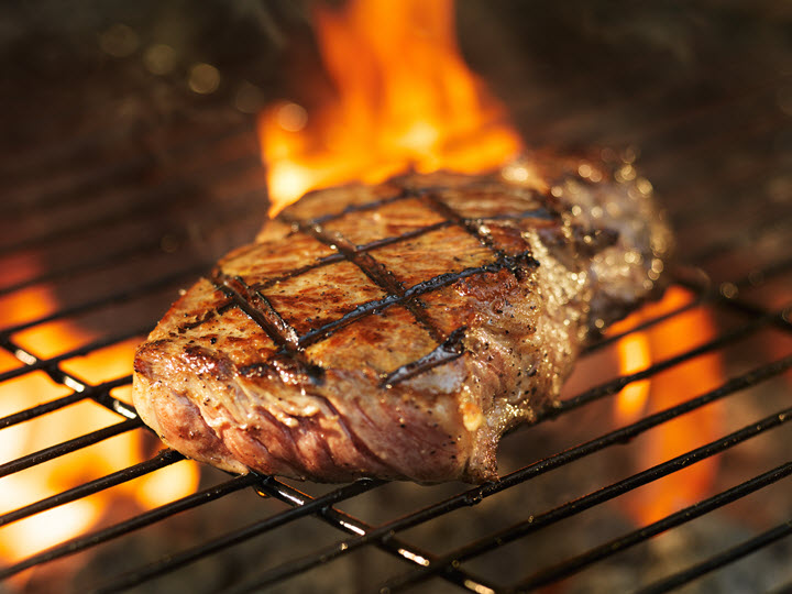 Grilled Steak.